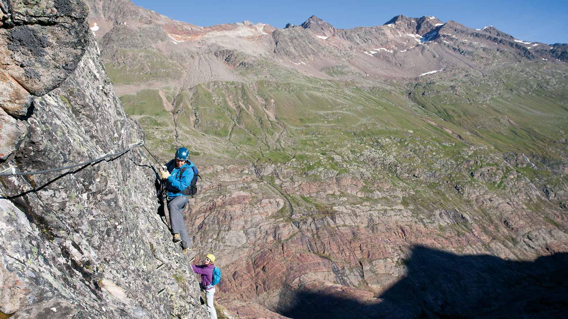 Klettersteig Obergurgl : Klettern in obergurgl